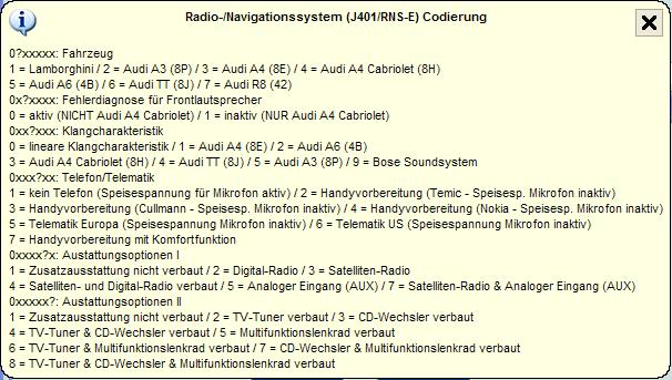 Stemei De Fahrzeugcodierungen Codierungsservice